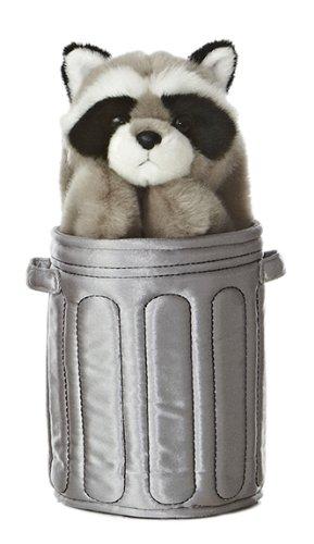 Aurora World Pop Up Raccoon 11'' Plush Puppet