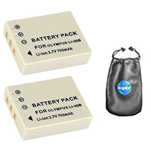 770mah batería para olympus xz-1 li-50b 3st