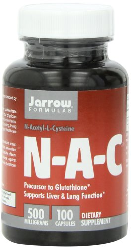 Jarrow Formulas N-A-C (N-Acetyl-L-Cysteine), 500mg, 100 Capsules, Health Care Stuffs