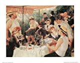 Pierre Auguste Renoir (Luncheon of the Boating Party) Art Poster Print Mini Poster Mini Poster Print, 20x16