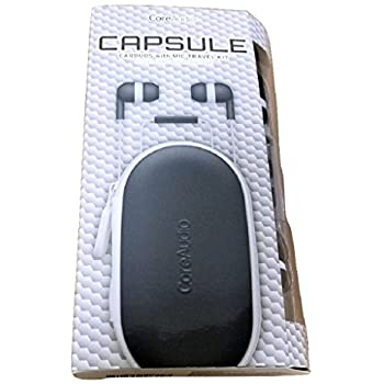 CoreAudio Capsule Earbuds w Mic and Travel Kit