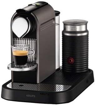 Krups XN7101 - Cafetera (Negro, Plata, Capuchino, 1L, 19 barra, 1710W, Café/Espresso): Amazon.es: Hogar