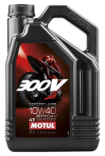 - Motul 300V 4T Competition Synthetic Oil - 10W40 - 4L. 836141 / 101352