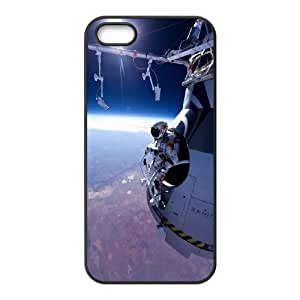 iPhone 5 5s Cell Phone Case Black Red Bull Stratos 01 Tofhl