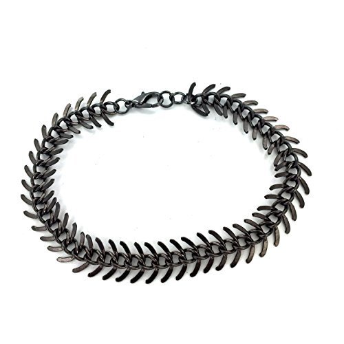 Fallen Womens Costumes (Gunmetal Fishbone Bracelet)