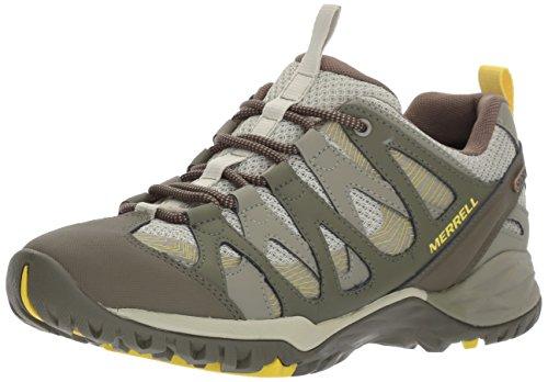 Merrell Women's Siren Hex Waterproof Hiking Shoe, Olive, 5 M US by Merrell