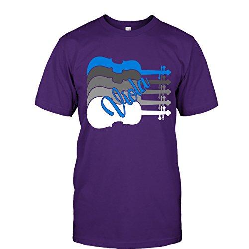 Viola T-Shirt - Viola Player Tee Shirts Unisex (M,Purple)