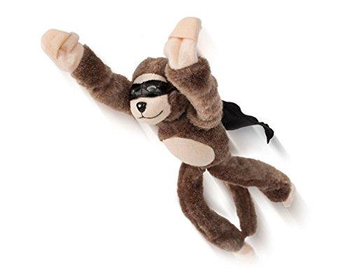 Pevor Flingshot Monkey Novelty Slingshot Flying Stuffed Screaming Money
