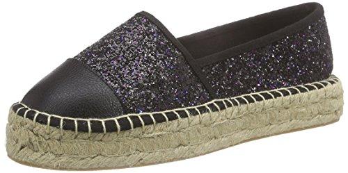 Another Pair of Shoes ElizaaK5, Damen Espadrilles, Schwarz (black01), 38 EU