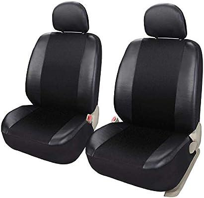 2x CAR SEAT COVER T-SHIRT VEST FRONT HEADREST BLUE Fiat Punto MK1 MK2 MK3