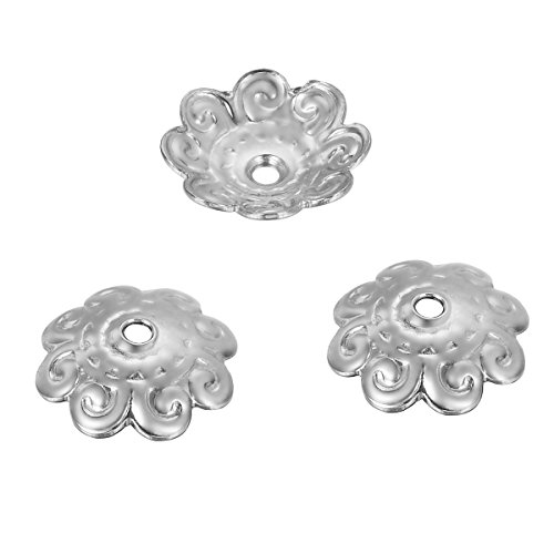 HOUSWEETY Stainless Pattern Flower Jewelry
