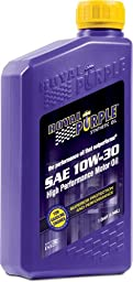 Royal Purple 12130 API-Licensed SAE 10W-30 High Performance Synthetic Motor Oil - 1 qt. (Case of 12)