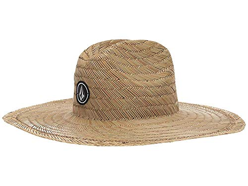 Volcom Kids Boy's Quarter Straw Hat (Big Kids) Natural One Size -