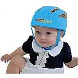 Infant Baby Toddler Safety Helmet Hat (Blue)