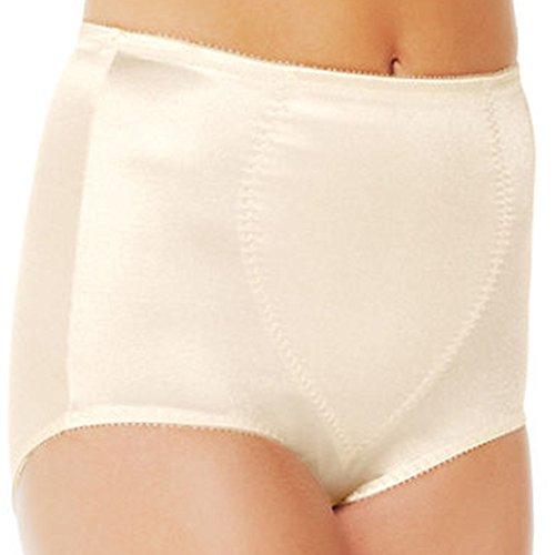 Bali Women's Light Control Tummy Panel Brief, Light Beige, 3X-Large
