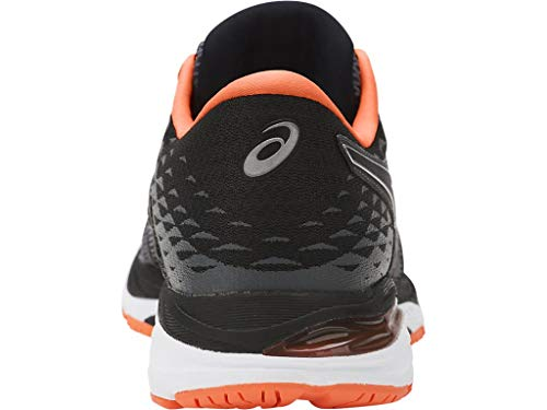 ASICS Mens Gel-Cumulus 19 Running Shoe Carbon/Black/Hot Orange 6.5 Medium US by ASICS (Image #2)
