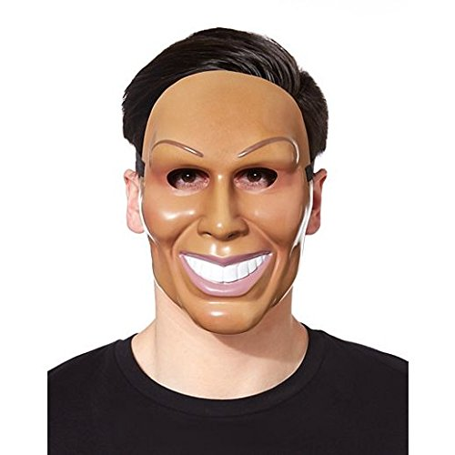 [Costume Beautiful Smiling Man Mask] (Smiling Man Mask)