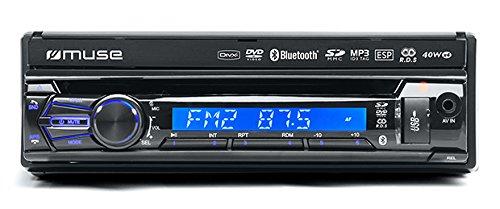 Muse M-728 DR Negro 160W Bluetooth receptor multimedia para coche: Amazon.es: Electrónica