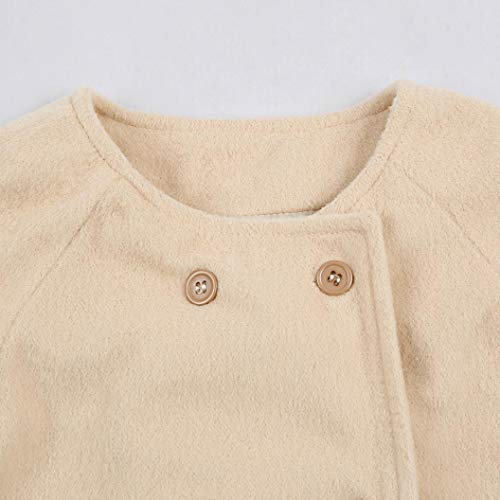 93cacaa7e KaiCran Toddler Baby Girls Cute Fall Winter Button Cardigan Jacket ...
