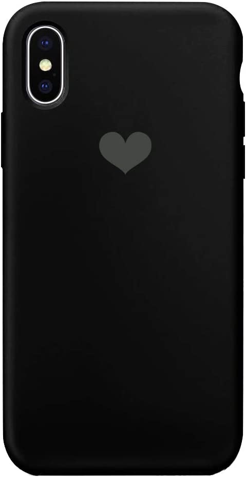 13peas - Carcasa de Silicona para iPhone XR, diseño de corazón iPhone XS 4