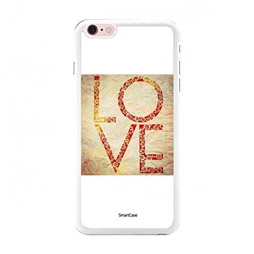 Coque + Verre Trempé pour iPhone 6 Plus / 6S Plus SmartCase® JUST LOVE