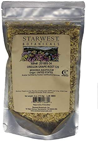 Oregon Grape Root C S Wildcrafted – 4 oz