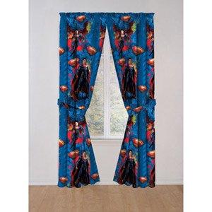 Superman Window Panels/Curtains