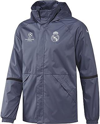 adidas Real Madrid CF EU ALLW JK Chaqueta, Hombre, Morado (morsup/Carbon), L