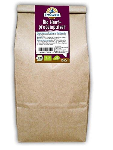 Erdschwalbe BIO Hanfprotein 1kg-Beutel