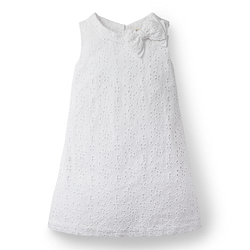 Hope & Henry Girls White Eyelet Shift -