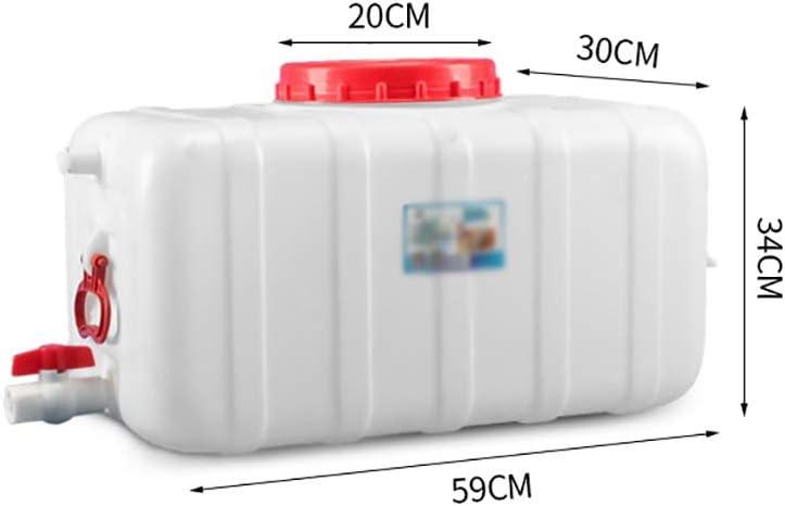 de gran capacidad de agua de pl/ástico grueso Tanque de almacenamiento dep/ósito de agua Multi-s hogar al aire libre Cubo /ácido y el /álcali Resistencia Qu/ímica barril Horizontal del tanque de agua