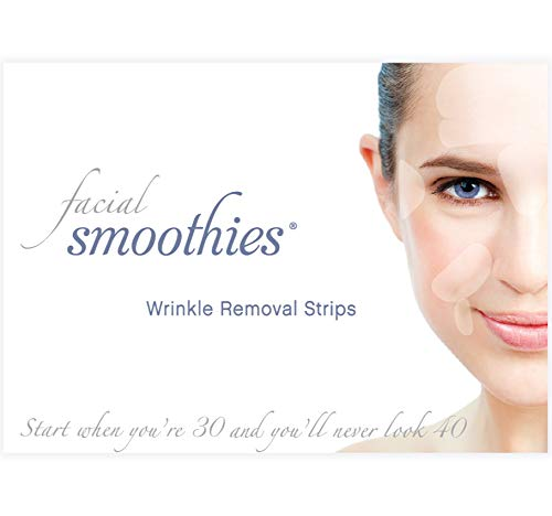 Facial Smoothies Wrinkle Remover Strips - rapid anti-wrinkle treatment - 120