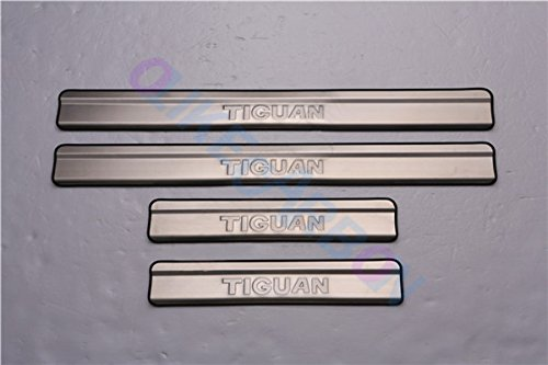 For Volkswagen Vw Tiguan 2009-2015 Car Door Sill Scuff Plate Guard Entry Door Guard Sills With OLIKE