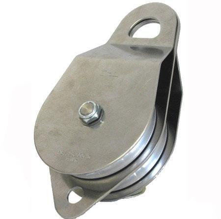 Portable Winch Co. PCA-1273 Stainless Steel Double Swing Side Snatch Block by BRAND NOT SPECIFIED [並行輸入品] B018A4CXJI