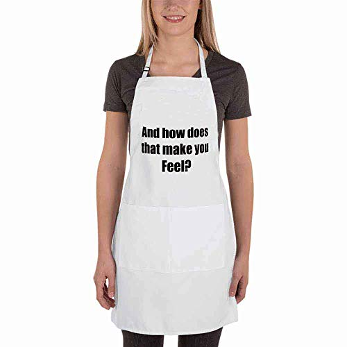 4 bthfiron Adjustable Bib Apron - in Treatment Fashion Apron with Two Pockets for Kitchen Cooking Restaurant Dishwashing BBQ for Women