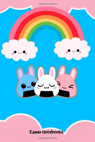 Kawaii Notebooks: Love Bunnies And Clouds :: Cute Kawaii Pocket Notebook ebook