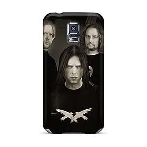 JamieBratt Samsung Galaxy S5 Bumper Hard Phone Cases Allow Personal Design Vivid Eternal Tears Of Sorrow Band EToS Series [Caa6723TgrI]