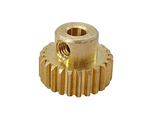 Brushless Pinion (KELIWOW 3.175mm 26T Pinion Motor Gear for 1/12 RC Car Brushed Brushless Motor FY-26T)
