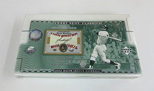 2002 Upper Deck Sweet Spot Classics Baseball Box (Hobby)