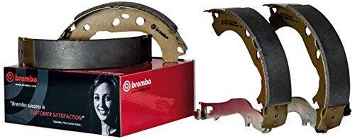 Brembo S11509N Rear Drum Brake Shoe ()