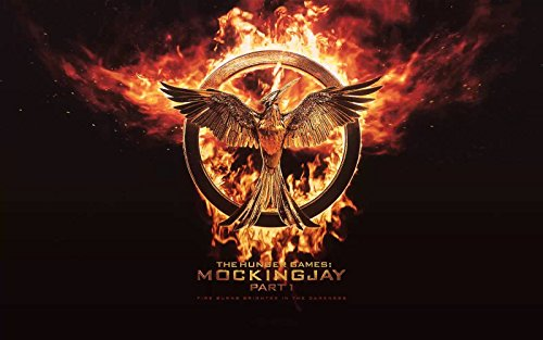 The Hunger Games: Mockingjay Part 1 Edible Image Cake Topper Decoration Edible Icing Image Cake Topper (1/4 Sheet)]()