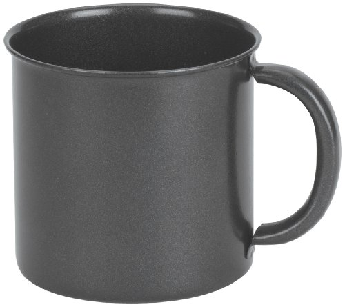 Stansport Steel Mug, 14-Ounce, Black Granite, Outdoor Stuffs