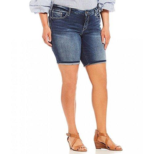 判決成り立つ従者(シルバー ジーンズ) Silver Jeans Co. レディース ボトムス?パンツ ショートパンツ Plus Suki Bermuda Shorts [並行輸入品]