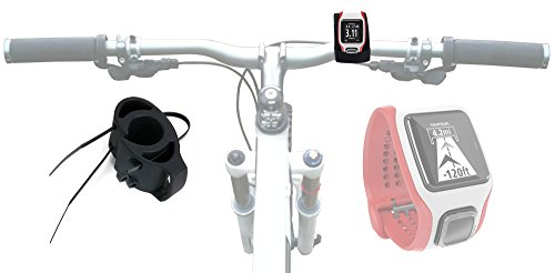duragadget-black-bicycle-handlebar-mount-kit-for-tomtom-multi-sport-cardio-watch-secured-with-strong