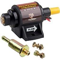 Bomba de combustible de gasolina eléctrica 5/16 pulgadas 8 mm de bajo ruido Diseño de dos cables para la mayoría de las aplicaciones de 4, 6 cilindros de importación (105.99L/h 2-3.5PSI para gasolina)