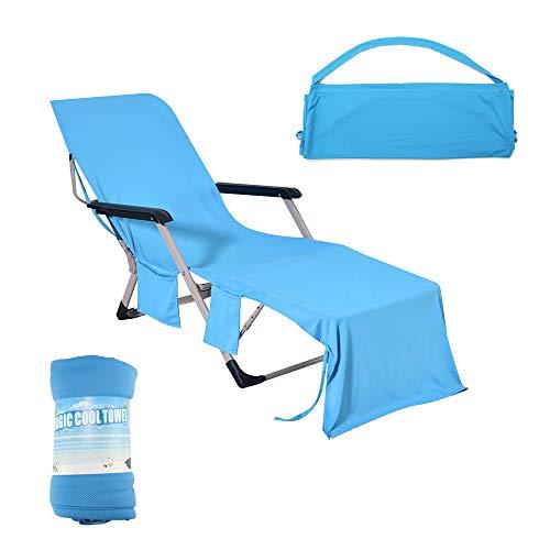 beach lounge chair cover - 2