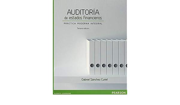 Auditoria de estados financieros: Sanchez: 9786073231206: Amazon.com: Books