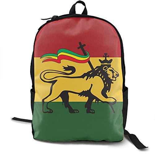 shion Lightweight Canvas Travel Backpack For Women & Men ()