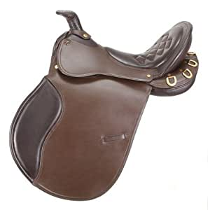 EquiRoyal Comfort Trail Saddle with Horn