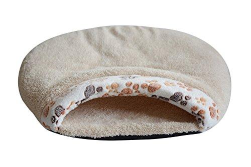 [Freerun Indoor Fleece Pet Sleeping Bag Warm Soft Puppy Small Dog Cat Kitten Cave Bed (Beige, L)] (Castle Boutique Halloween Costumes)